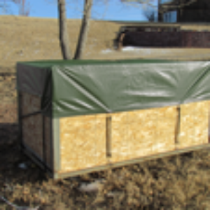 Brown/Green Utility Tarps